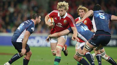 Questions will need to be asked about the continuing existence of the British and Irish Lions. The representative rugby team has toured Southern Hemisphere nations since 1888 and survived Ireland's independence. But Scotland may seek an exit from the side after the 2013 squad only included three Scotsmen, including blonde giant Richie Gray (pictured).
