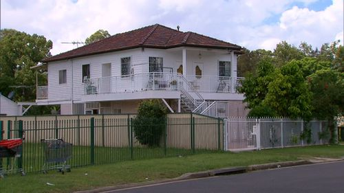 The pair rented out a converted garage behind this house in Fairfield house. (9NEWS)