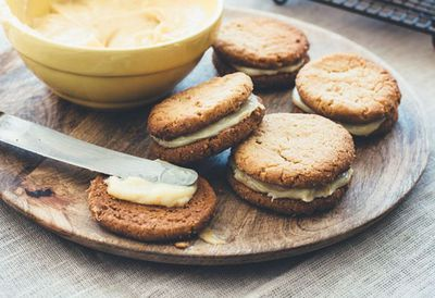 "<a href=""http://kitchen.nine.com.au/2016/05/20/10/54/macadamia-biscuits-with-macadamia-butter-and-salted-toffee-filling"" target=""_top"">Macadamia biscuits with macadamia butter and salted toffee filling</a><br /> <br /> <a href=""http://kitchen.nine.com.au/2016/06/06/21/43/biscuit-recipes-for-blissful-baking"" target=""_top"">More biscuit recipes</a>"