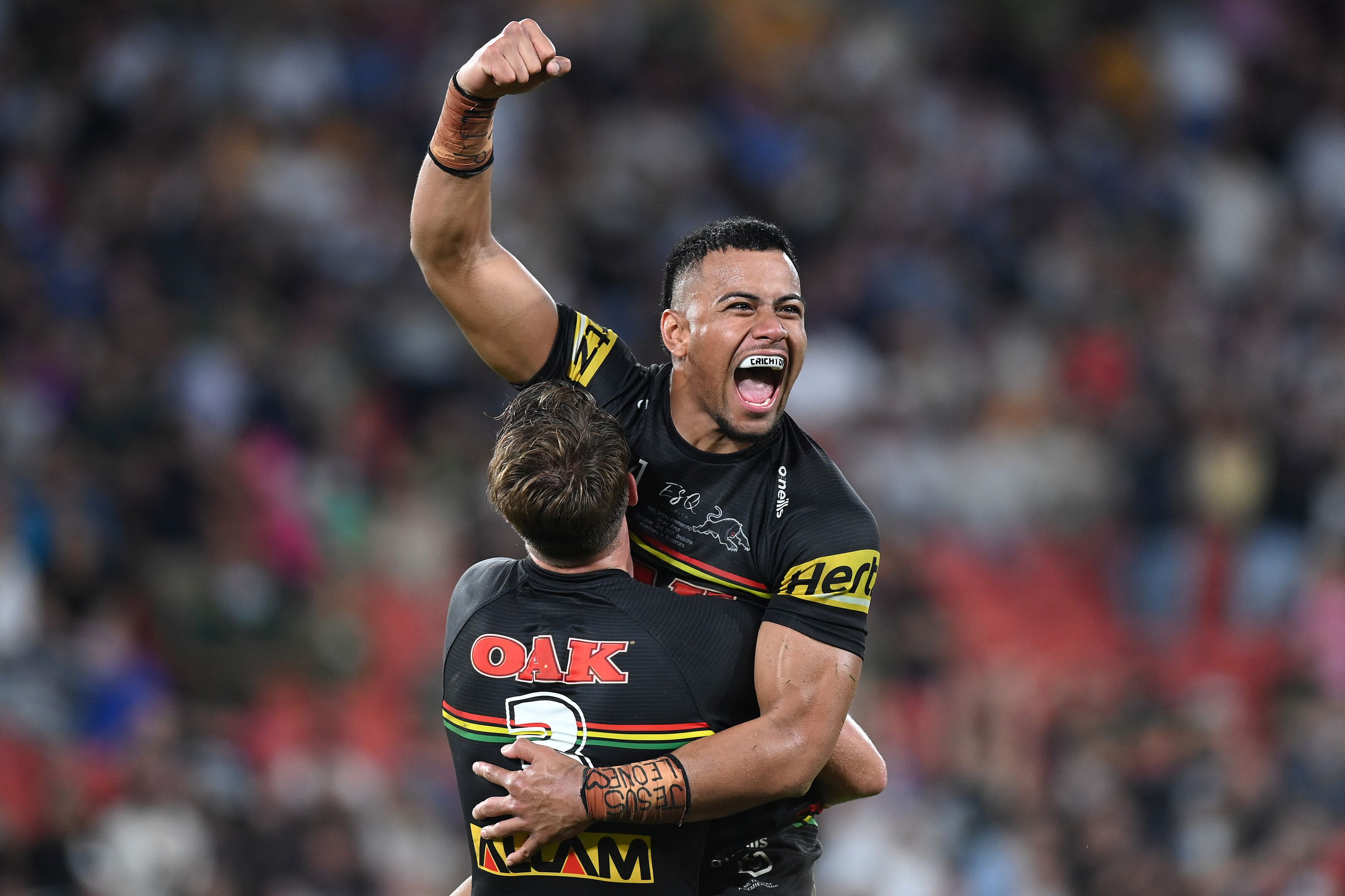 How Panthers star Stephen Crichton planned for exact winning moment in NRL grand final