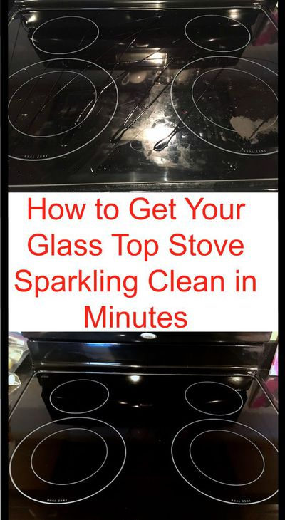 Give your glass stove top some love