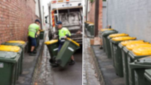 Inner-Melbourne ratepayers up in arms over proposed $250 'bin tax'