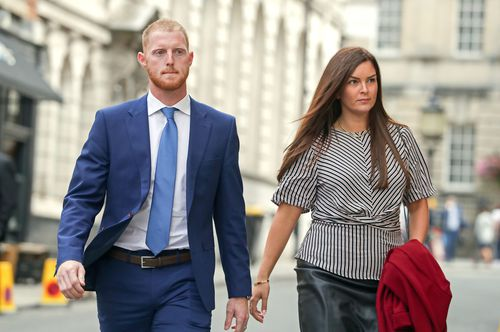 Ben Stokes has appeared in court again over the brawl in Bristol last year.