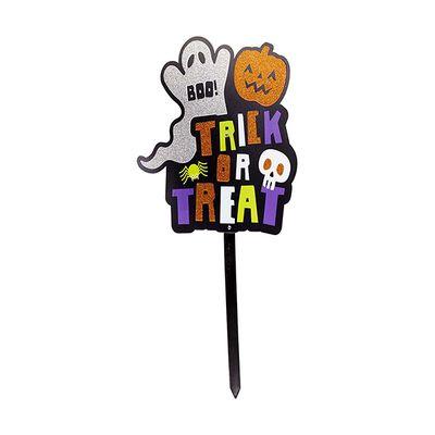 "Halloween yard stake $4, <a href=""http://www.kmart.com.au/product/halloween-yard-stake/1049801"" target=""_blank"">Kmart</a>."