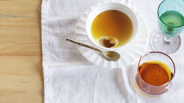 Mark Best: Sauternes custard with bitter caramel