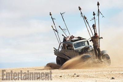 <i>Mad Max: Fury Road</i> is expected to hit cinemas May 15, 2015.<br/><br/>In the meantime, flick through to check out some leaked footage from the set...