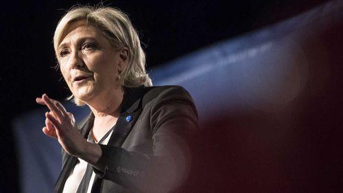 Marine Le Pen. (AAP)