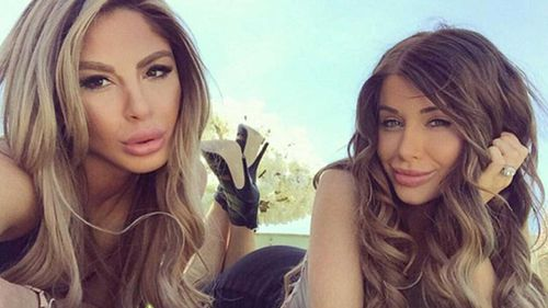Aiisha Mehajer with her sister-in-law Aysha. (Instagram)