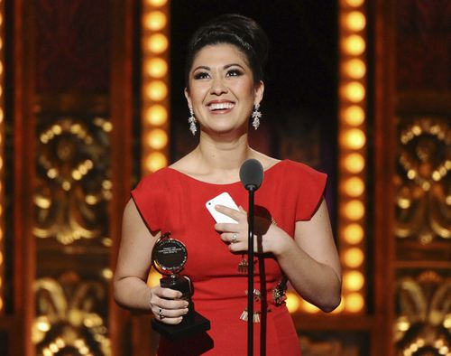 Miles won a Tony in 2015 for her work in The King and I. (AAP)