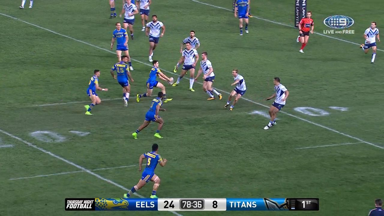Eels finish in style
