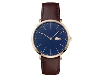 """<a href=""""https://watchfactory.com.au/collections/lacoste-for-men/products/lacoste-2010871"""" target=""""_blank"""" title=""""Lacoste Moon Brown Leather Men's Watch, $299"""" draggable=""""false"""">Lacoste Moon Brown Leather Men's Watch, $299</a>"""