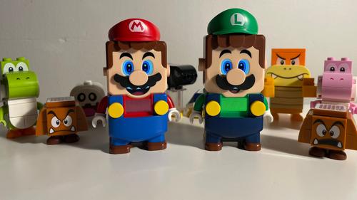 LEGO Super Mario: Adventures with Luigi will hit shelves on Monday.