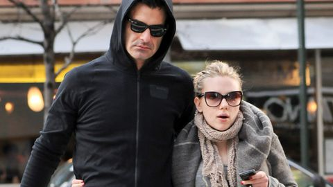 First pic! Scarlett Johansson and her hunky new man