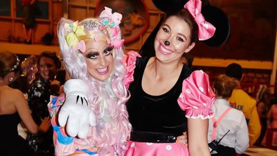 Francesca Packer shares costumed photo with an unrecognisable Roxy Jacenko