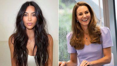 Kim Kardashian recalls crying over comparisons to Kate Middleton.