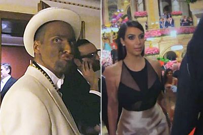 "<i>Keeping Up With The Kardashians</i> aired the moment a man in blackface called himself ""Kanye"" and approached Kim Kardashian West at the Vienna Ball. ""I don't get why he or anyone else would find this funny,"" Kim complained. ""This is supposed to be a really nice upscale event. How did this guy get in? Is this like a sick joke?""<br/><br/>The man turned out to be stand-up comedian Chris Stephan, who apologised on his Facebook page and denied being racist."