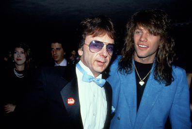 Phil Spector and Jon Bon Jovi