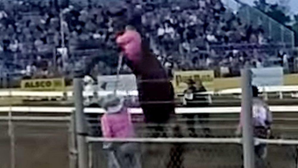 Horse handler gets brutally body slammed