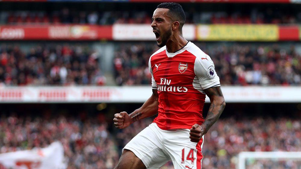 Arsenal join Man City atop EPL ladder