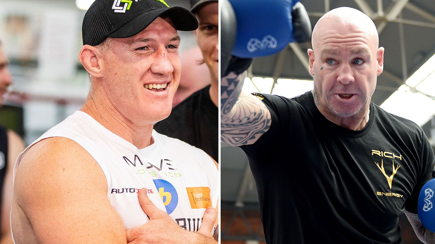 Paul Gallen claims Lucas Browne has cocked up his training and is undercooked for their fight