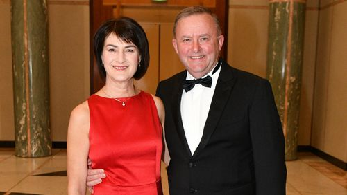 Anthony Albanese has announced he and his wife Carmel Tebbutt have separated.