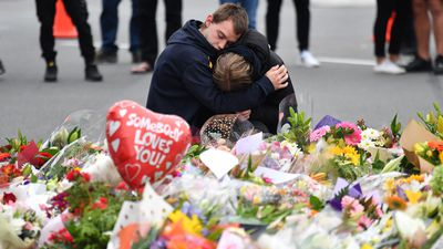 Heartbroken New Zealanders mourn massacre victims