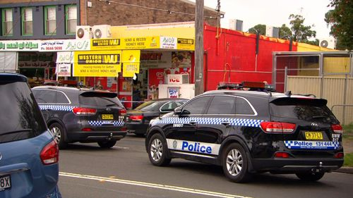 The incident is believed to have taken place outside the Miller Market in Chester Hill.