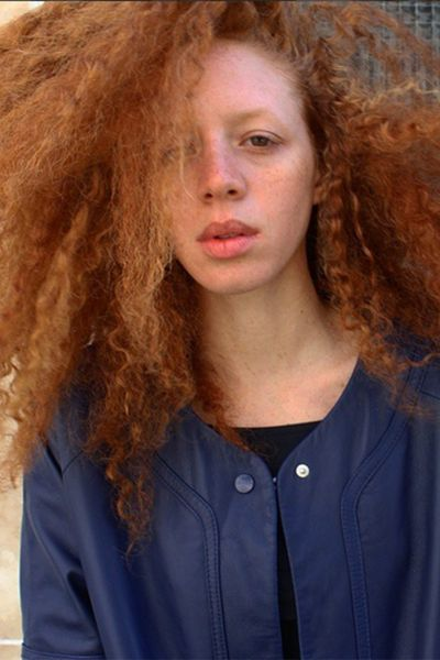 With hair like this, you're destined for an extraordinary life - and Coralie Jouhier is certainly living one. The French-Caribbean former model is now co-owner of a vegetarian hot dog cart and café called Le Tricycle in Paris.