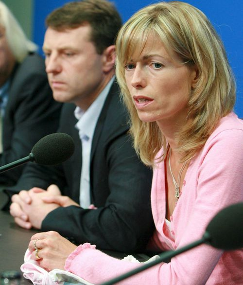 Gerry and Kate McCann hired Clarence Mitchell as their media spokesman in 2007. (AAP)