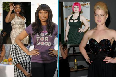 <b>Kelly Osbourne</b> and <b>Jennifer Hudson</b> wowed the world with their weight loss. They look like new women!<br/>