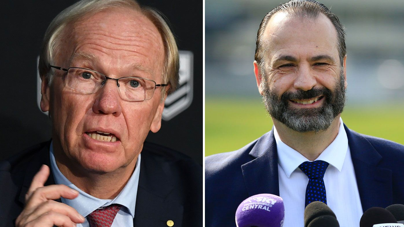 Peter Beattie to make was for Peter V'Landys