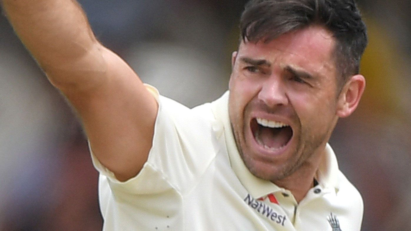 James Anderson amongst three English players caught up in social media storm