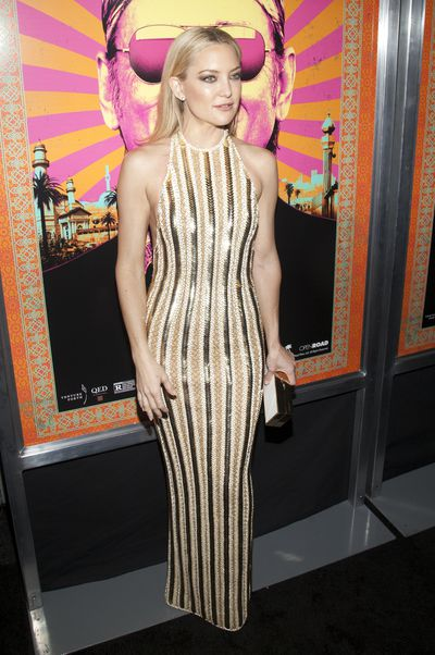 Kate Hudson attends the 'Rock the Kasbah' New York Premiere at the AMC Loews Lincoln Square in New York City