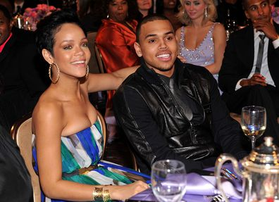 Rihanna, Chris Brown, Grammys, pre-Grammy event