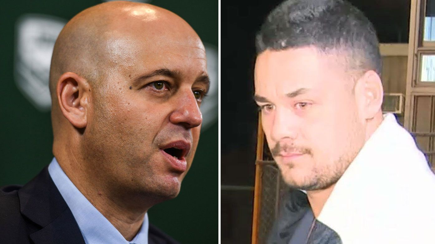 'Nothing to do with rugby league': NRL CEO Todd Greenberg quiet on Jarryd Hayne's playing future