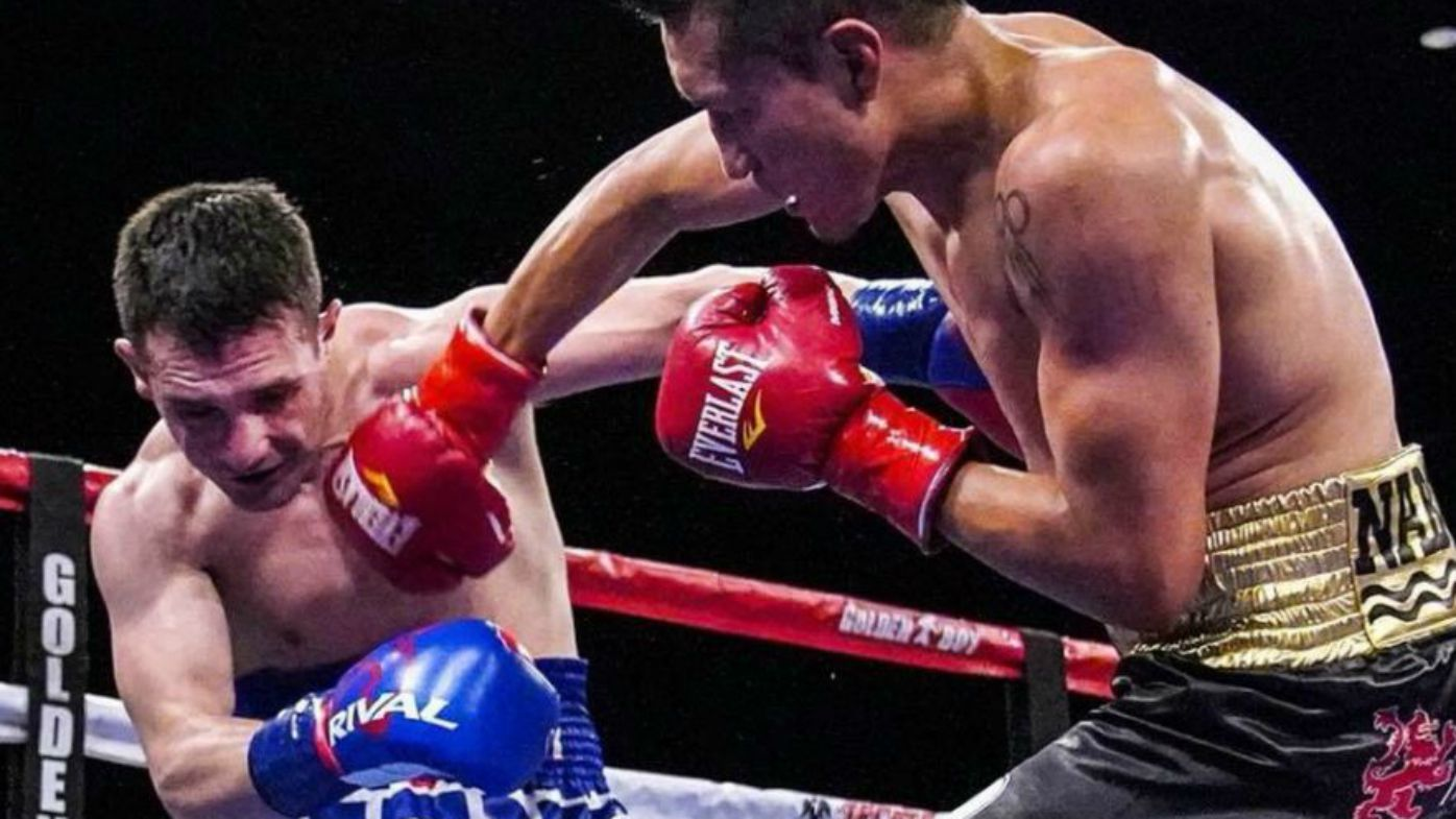 Mexican boxer Francisco Vargas destroys American opponent wearing 'America 1st' trunks