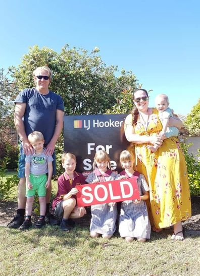 Lismore mum family home sold sign