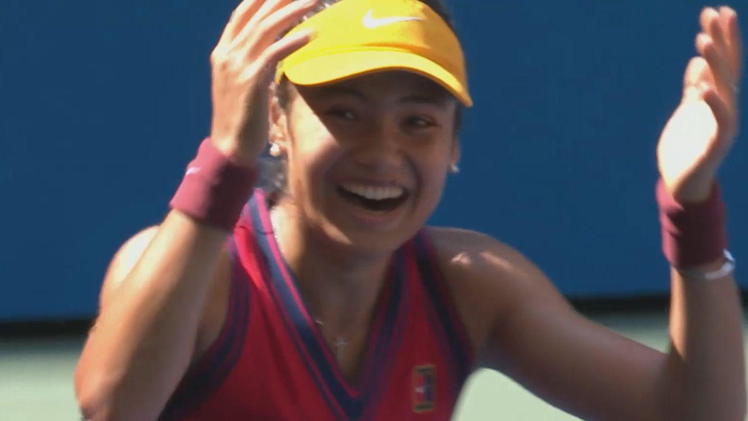 British teen Emma Raducanu upsets Belinda Bencic in US Open 'madness'