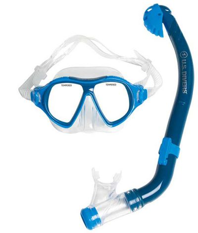 """<p>Swimming can get dull after a while. Add in goggles and a snorkel however and you can turn a simple dip into an adventure and possibly a science lesson too. Don't say lesson out loud though. The kids will never go for that.</p> <p><a href=""""http://www.rebelsport.com.au/Product/US-Divers-Junior-Manta-Snorkelling-Combo/521591?menuFrom=5"""" target=""""_blank"""" draggable=""""false"""">US Divers Junior Manta Snorkelling Combo, $29.99.</a></p>"""