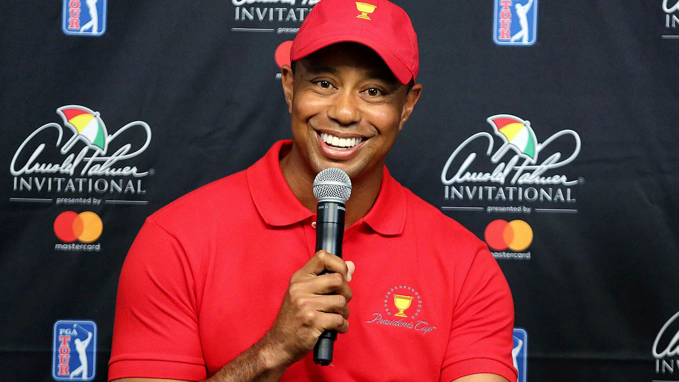 Tiger Woods and Ernie Els unveiled as President Cup captains