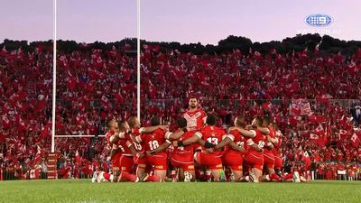 Tonga fightback falls short against Kangaroos in historic Test