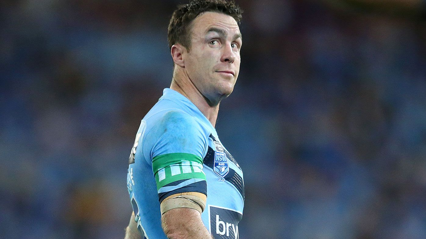 Blues thrive after James Maloney sin binned for professional foul on Queensland skipper Billy Slater