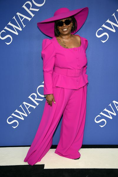 Actress and TV host Whoopi Goldberg at the 2018 CFDA Fashion Awards in Brooklyn, New York,  June, 2018