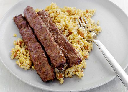 Shepherd's salad (pictured with Adana kofte and Burghul pilaf)