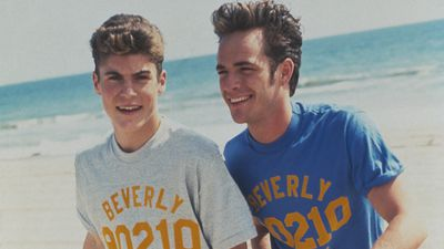 Brian Austin Green reveals he texted '90210' co-star Luke Perry after he passed because he was in denial that the actor was dead