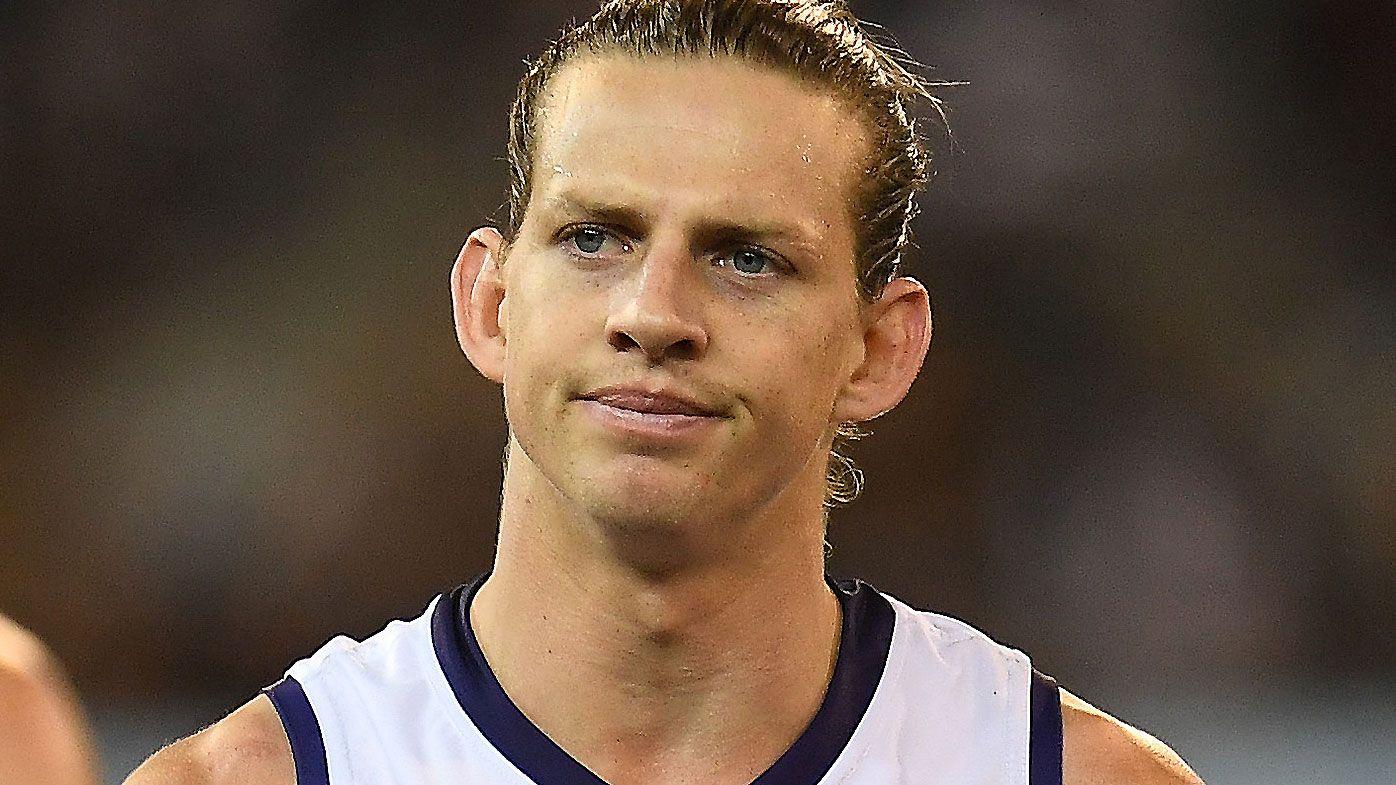 Fremantle superstar Nat Fyfe suffers hamstring strain during Dockers' clash against Brisbane