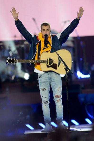 'One Love Manchester' benefit concert Justin Bieber