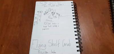 Flying Shelf Grab