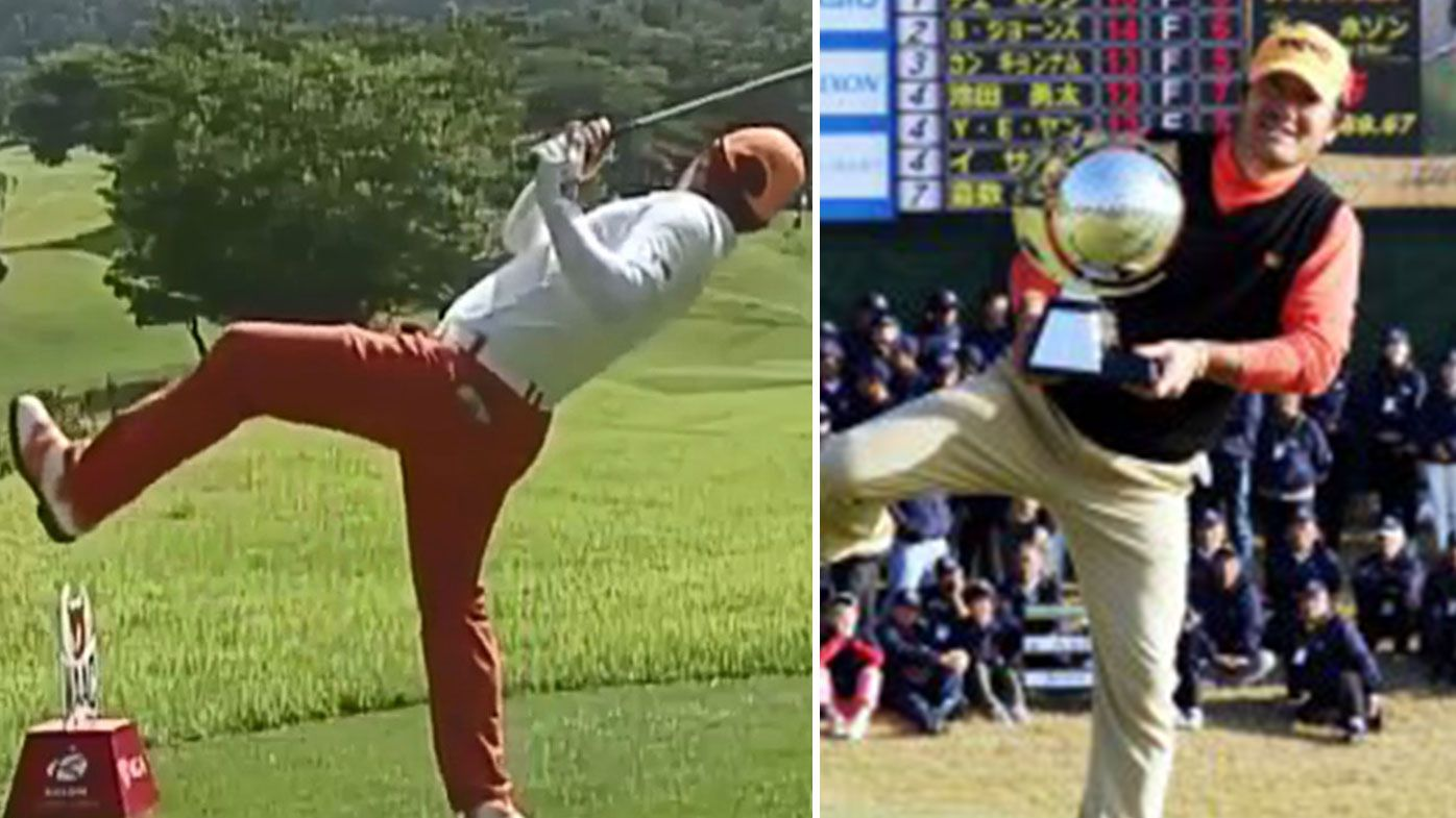 South Korean golfer Hosung Choi's remarkable golf swing results in win on Japan Golf Tour