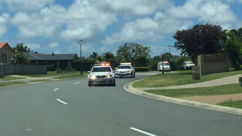 The 12-car pursuit took place on the northern Gold Coast.